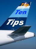 Top Ten Fear of Flying Tips