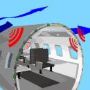 Click here for more information on airplane flight noises...