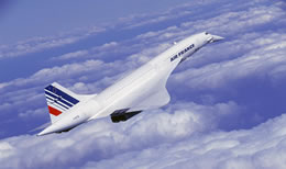 Concorde was most affected by Cosmic Radiation
